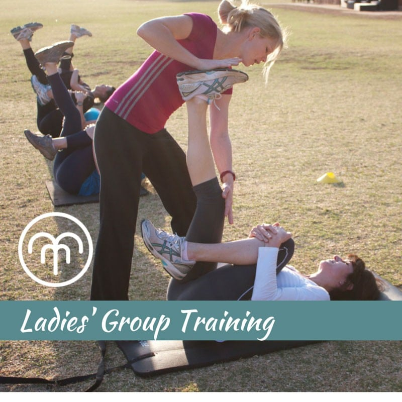 Ladies Group Fitness Class at Zoo Lake, Johannesburg