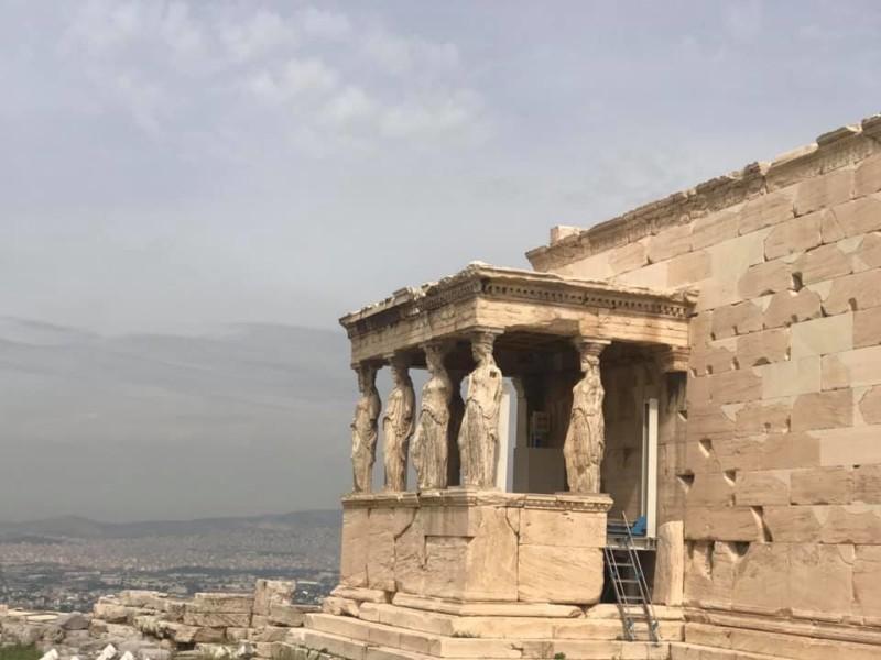Caryatid Statues at Acropolis
