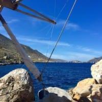yoga retreat greece kythnos 2019 - view of the sea