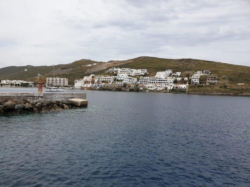 Arriving in Kythnos