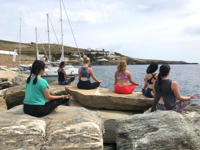 Greece Yoga Retreat 2019